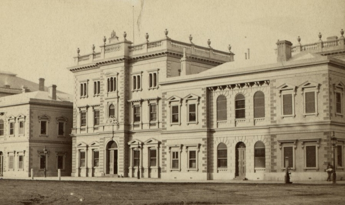 Treasury Building, image courtesy State Library of South Australia B 7859